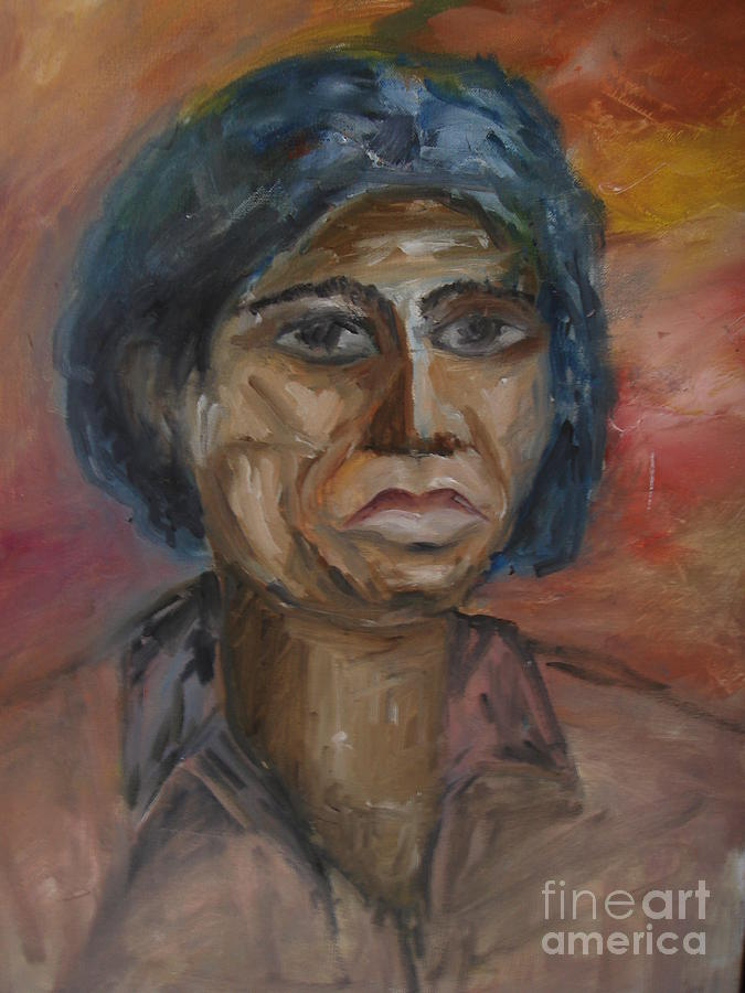 Figurative Painting - Sympothy by Rushan Ruzaick