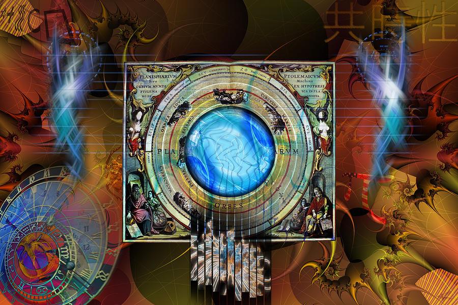 Synchronicity Digital Art - Synchronicity by Kenneth Armand Johnson
