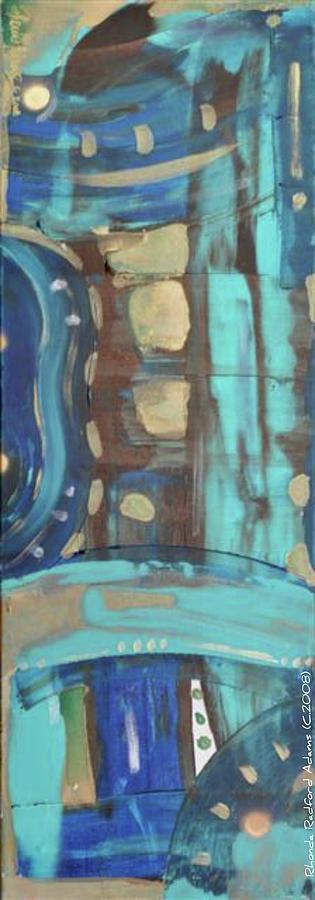 Syncronicity II Painting by Rhonda Radford-Adams