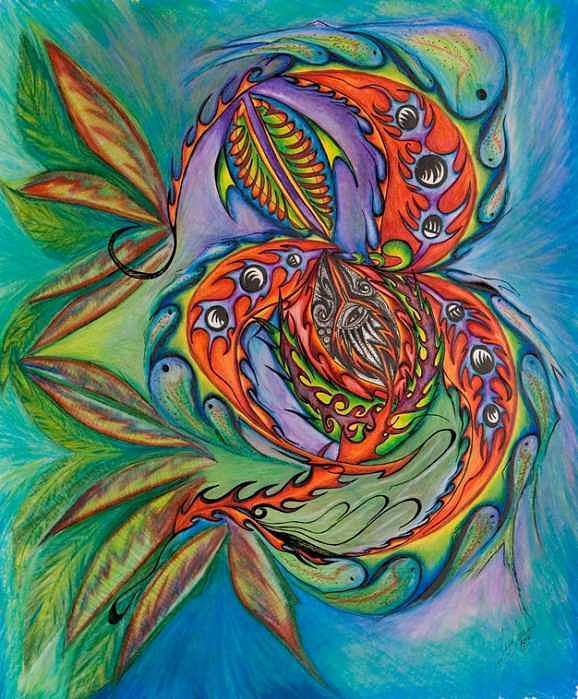 Synergy Painting by Jess  Jordan