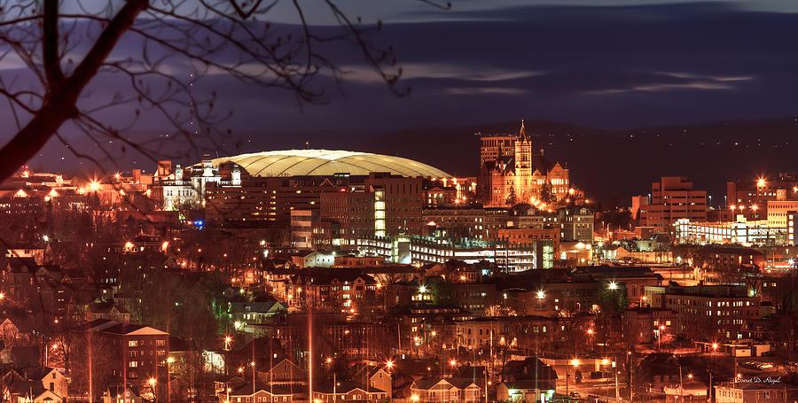 Syracuse Dome At Night Photograph