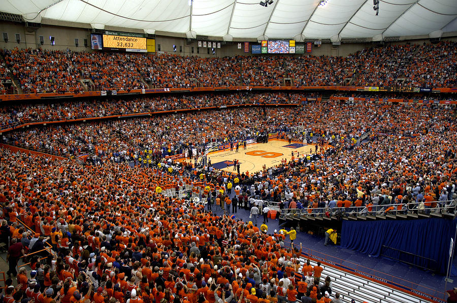 Syracuse orange carrier dome photograph by replay photos for Plan and print syracuse