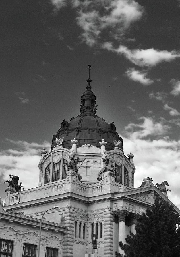 Photograph Photograph - Szecsenyi Furdo - Szecsenyi Bath- Budapest Hungary by Eva Ramanuskas