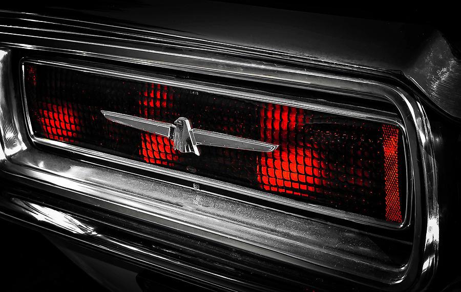T-Bird Tail Light by GK Hebert Photography