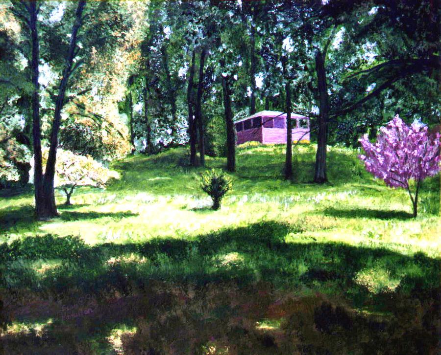 Landscape Painting - T C Steel by Stan Hamilton