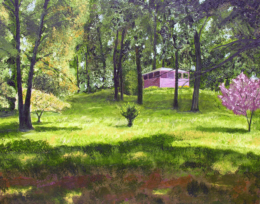 Landscape Painting - T C Steels by Stan Hamilton