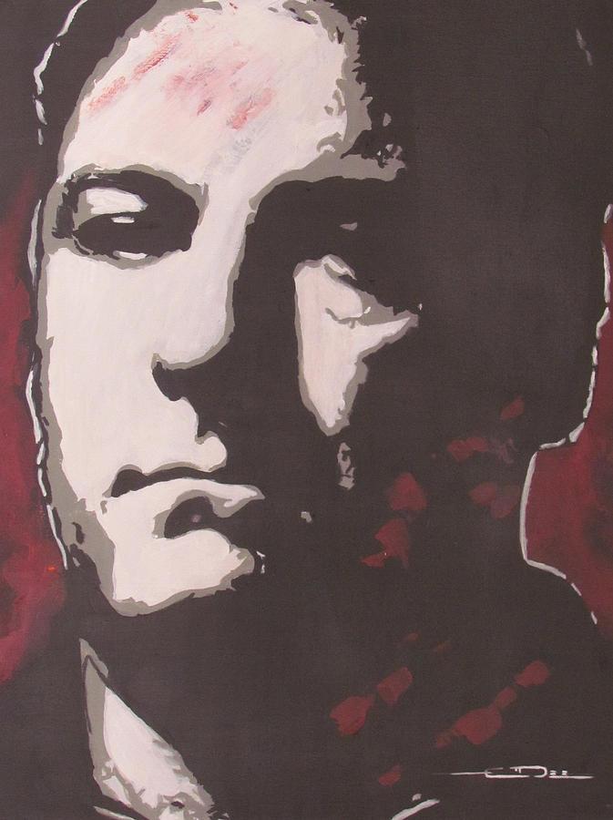 Anthony John tony Soprano Painting - T by Eric Dee
