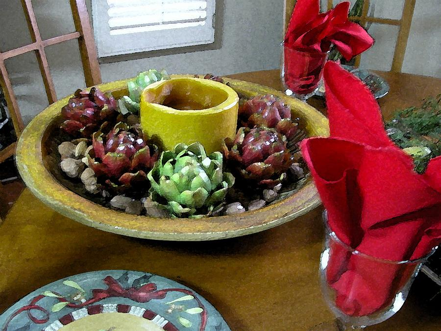 Holiday Photograph - Table Art by Michael Morrison