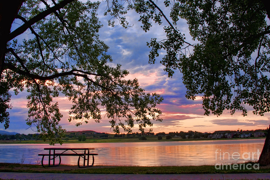 Lake Photograph - Table For Four With A View by James BO  Insogna