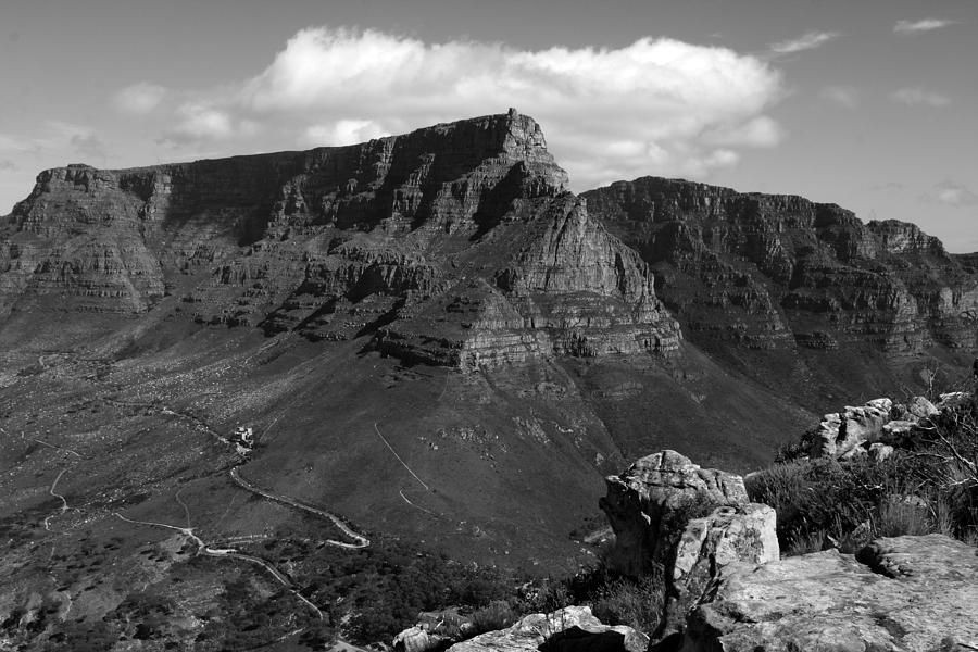 Table Mountain, Cape Town, South Africa Photograph