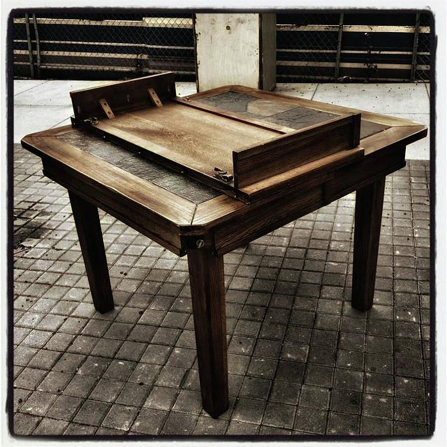 Streetart Photograph - Table That Thought. This Beautiful by Mr Photojimsf