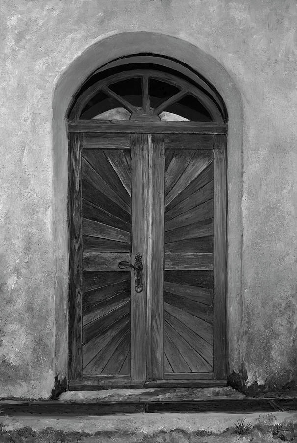 Doors Painting - Taciturn by Christian Klute