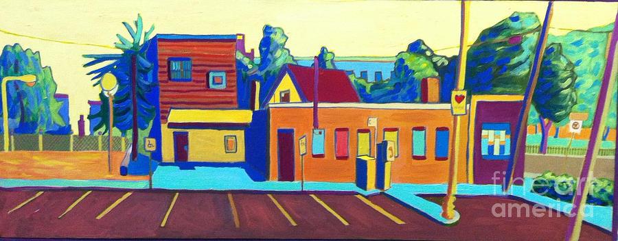 Taft Painting - Taft Hill Road by Debra Bretton Robinson
