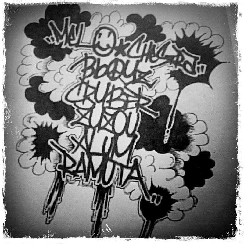 Tagging Drawing by Zyzou Fukuno Daisuke