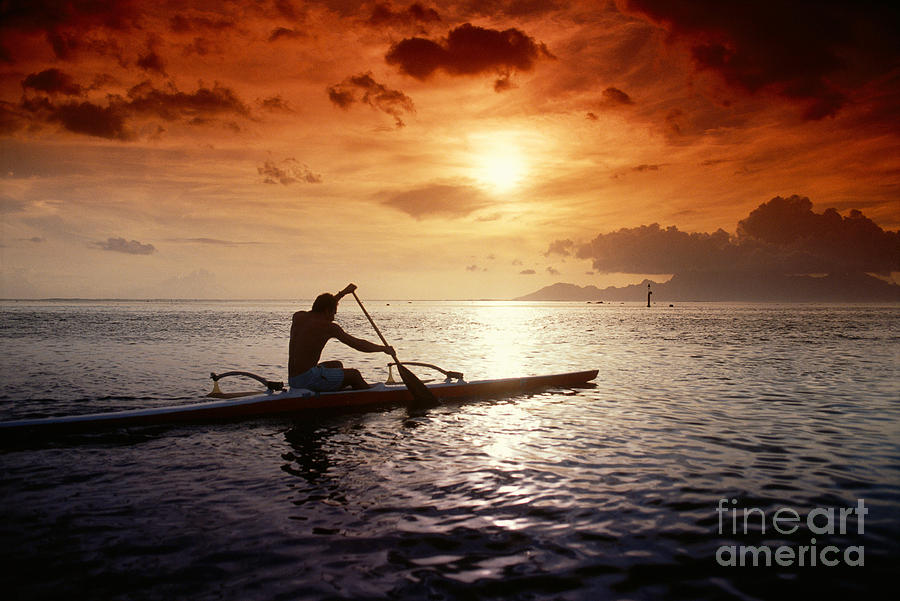 Adventure Photograph - Tahiti, Papeete by Joe Carini - Printscapes
