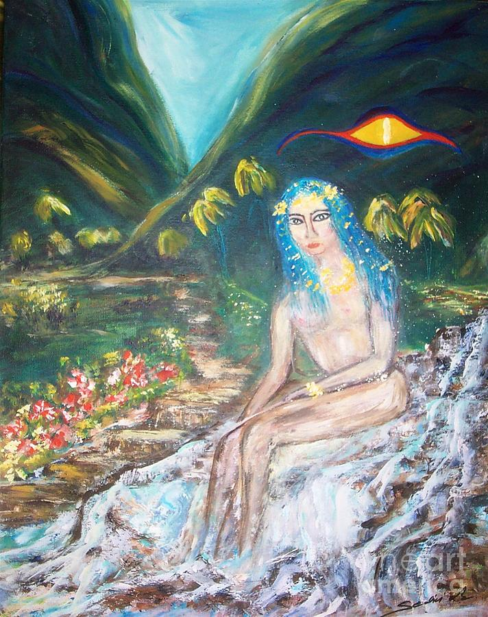 Sedici Painting - Tahitian Princess by Mary Sedici