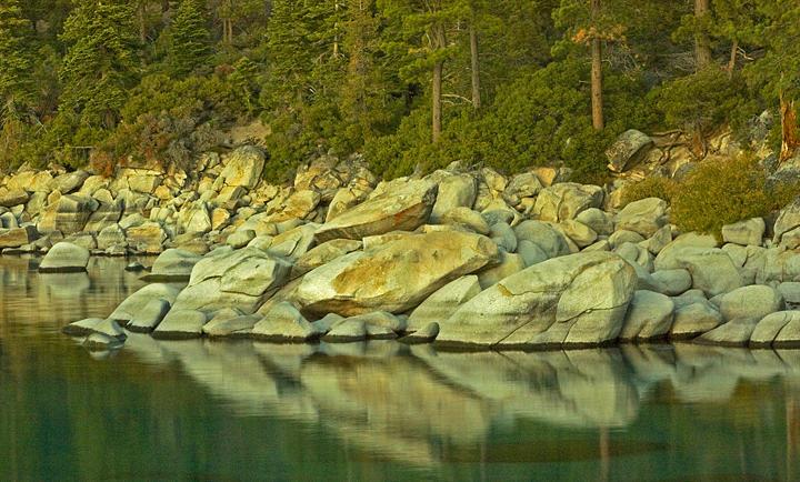 Tahoe Photograph - Tahoe At Dusk by Kelley Swinney