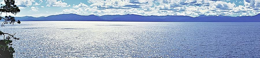 Tahoe from the East Shore by Michael Courtney