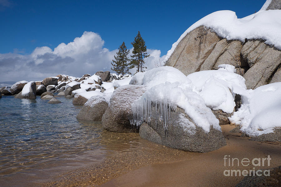 Tahoe Icicles by Vinnie Oakes