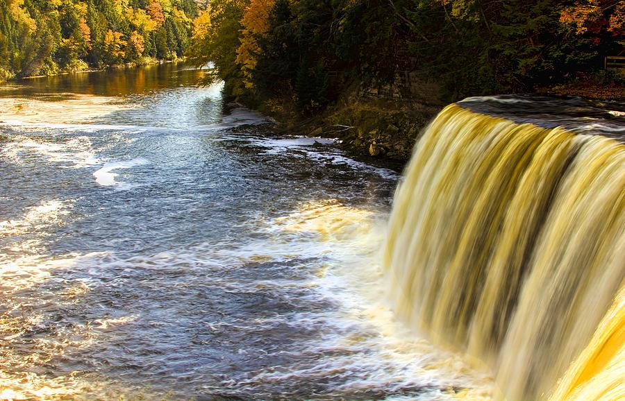 Tahquamenon Falls And River Photograph
