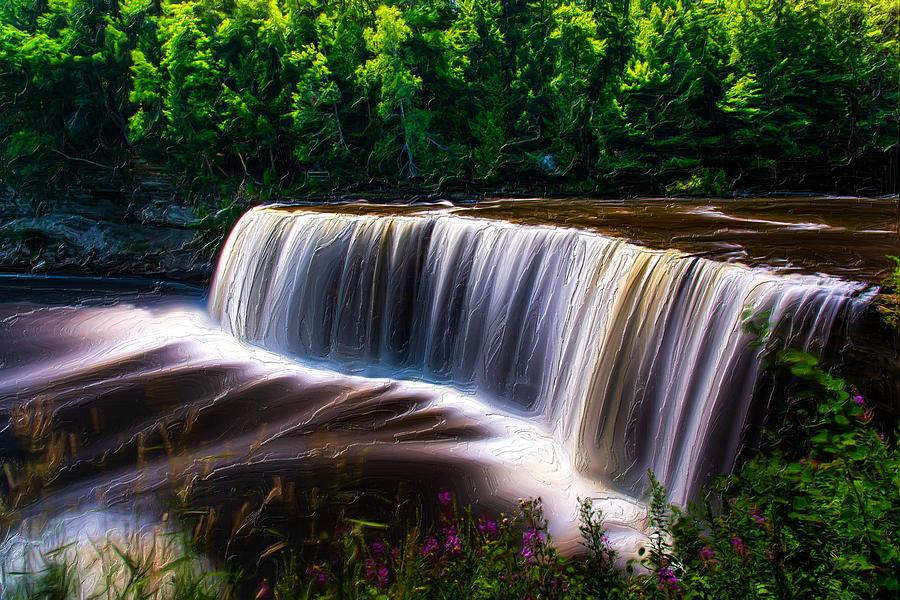 Tahquamenon Falls Photograph - Tahquamenon Falls by Michael Tucker