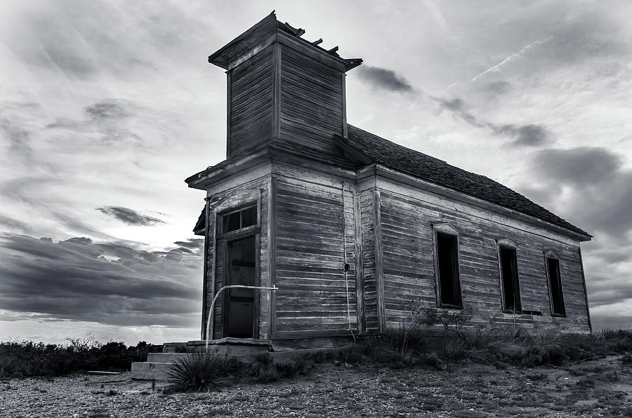 Taiban Presbyterian Church, New Mexico by Adam Reinhart