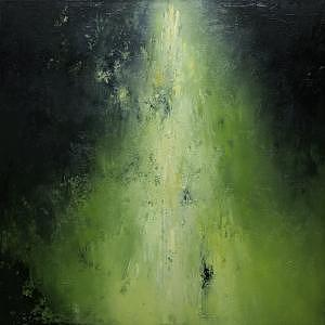 Moody Painting - Taiga by Jill Henry