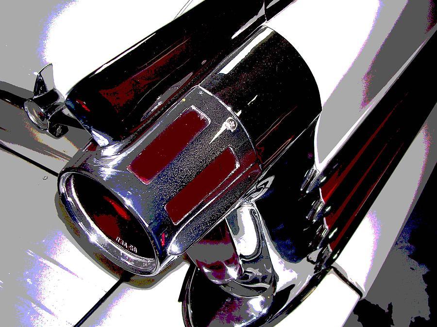 Automobile Photograph - Taillight by Audrey Venute