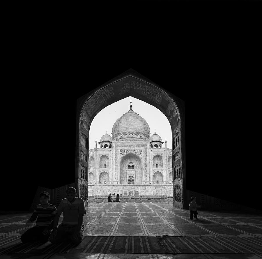 Architecture Photograph - Taj Mahal by Basem Al-qasim