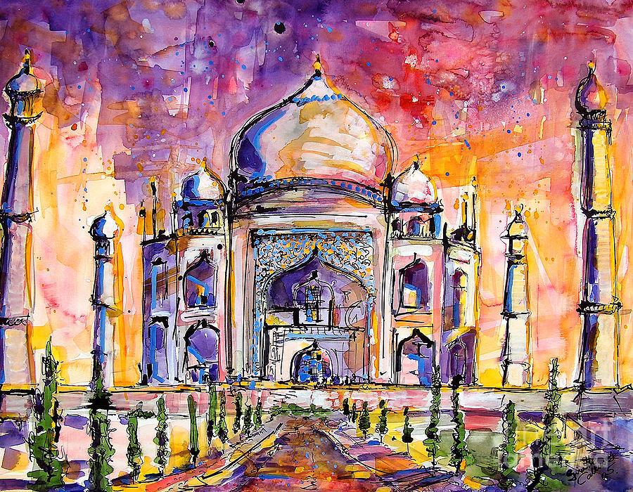 Taj Mahal by Ginette Callaway