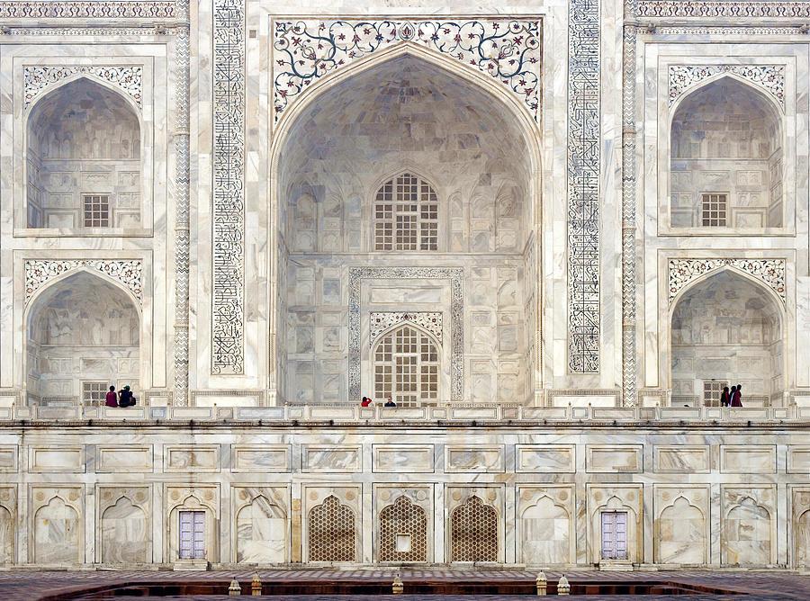 Taj Photograph - Taj Mahal II by Nina Papiorek