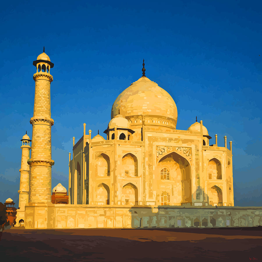 Taj Mahal In The Morning Light Photograph by Brian Shaw