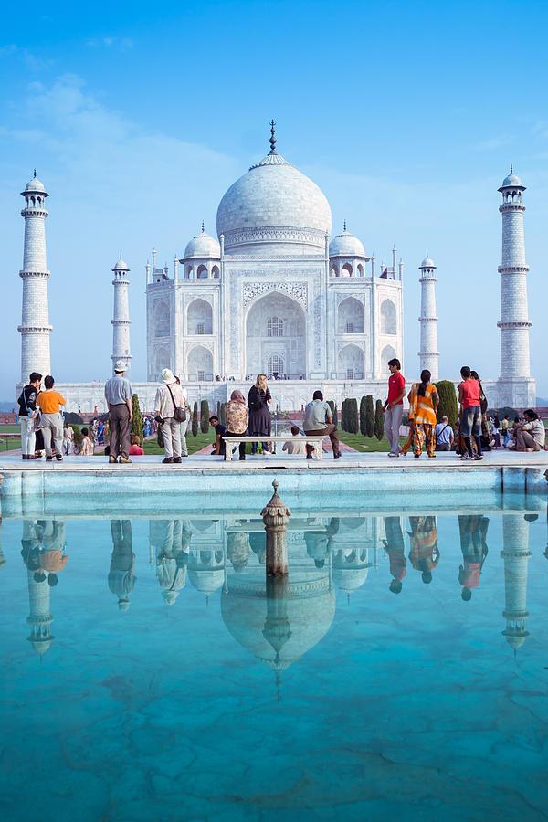 Ancient Photograph - Taj Mahal  by Nila Newsom