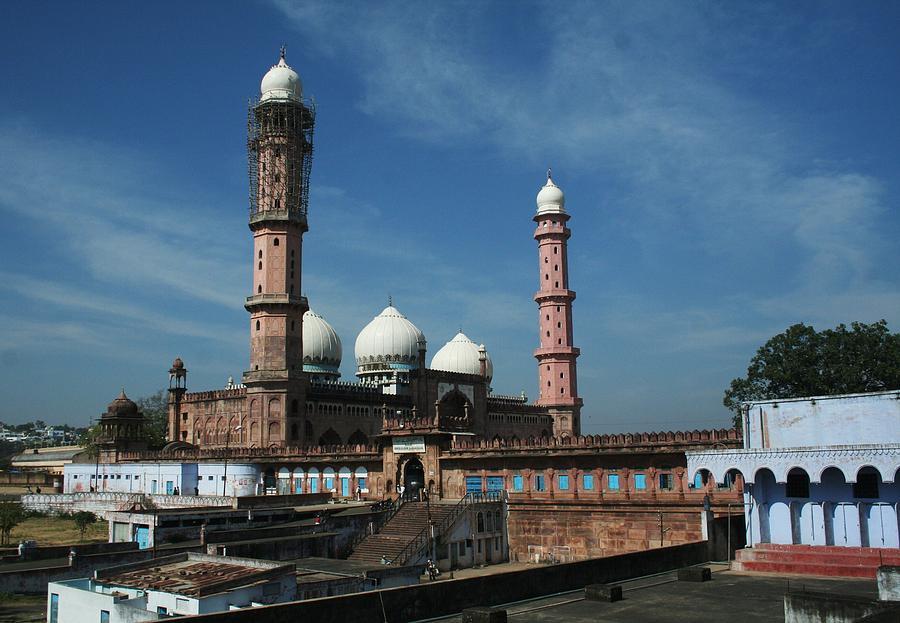 Bhopal Photograph - Tajul Masajid by Mohammed Nasir