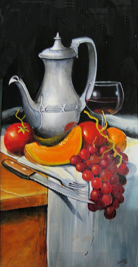 Stillife Painting - Take A Break by Robert Carver