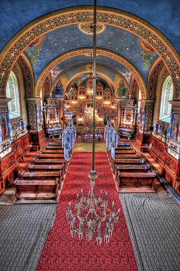 Church Photograph - Take A Seat by Evelina Kremsdorf