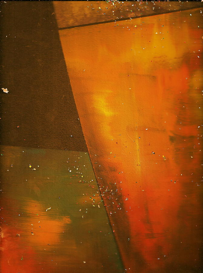 Golden Painting - Take A Sip Of The Golden Hour by Anne-Elizabeth Whiteway