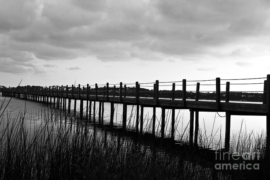 Black & White Photograph - Take Me Away by Scott Pellegrin
