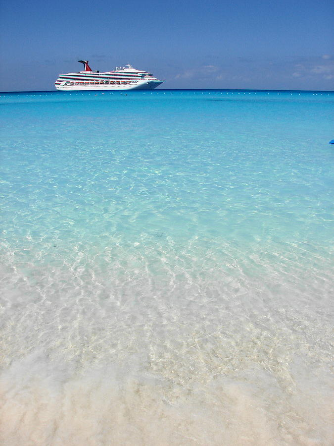 Caribbean Cruise Photograph - Take Me Back To Half Moon Cay by Margaret Bobb