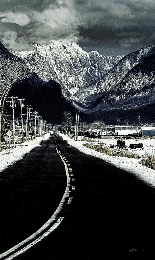 Mountains Photograph - Take me home 2 by Bill Linn