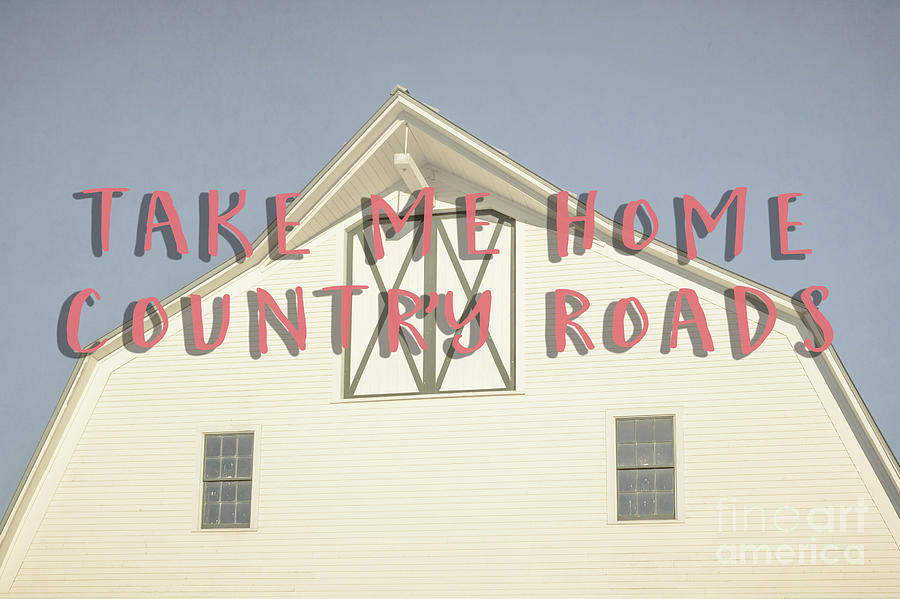 Vermont Photograph - Take Me Home Country Roads by Edward Fielding