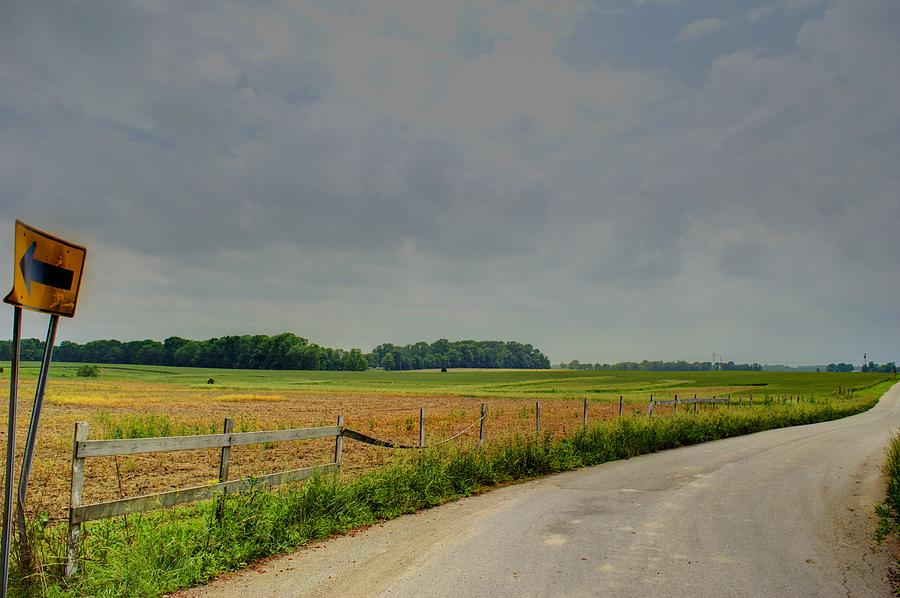 Country Road Photograph - Take Me Home by Off The Beaten Path Photography - Andrew Alexander