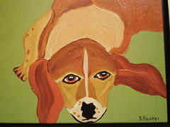 Pet Portraits Painting - Take Me Home by Suzanne Filotei