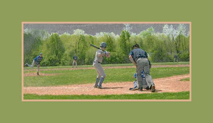 Baseball Photograph - Take Me Out To The Ball Game by Kelly  Kane