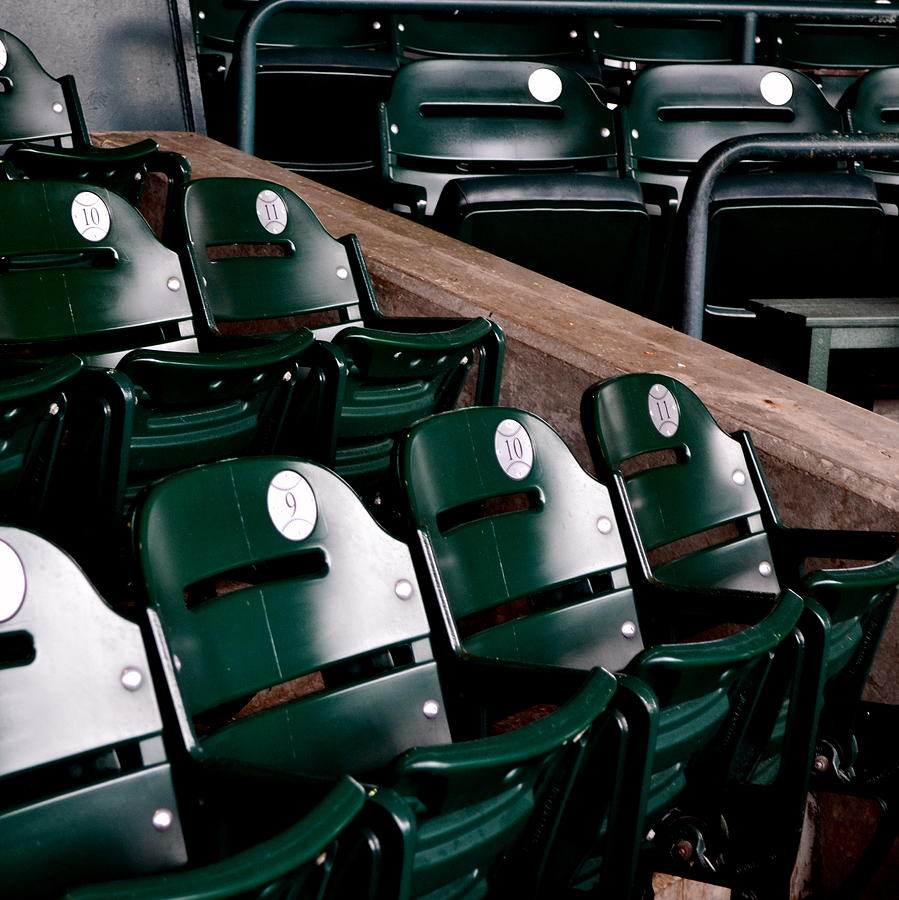 Detroit Photograph - Take Me Out To The Ball Game by Michelle Calkins