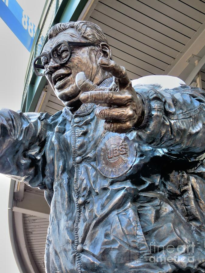 Harry Caray Photograph - Take Me Out To The Ballgame by David Bearden