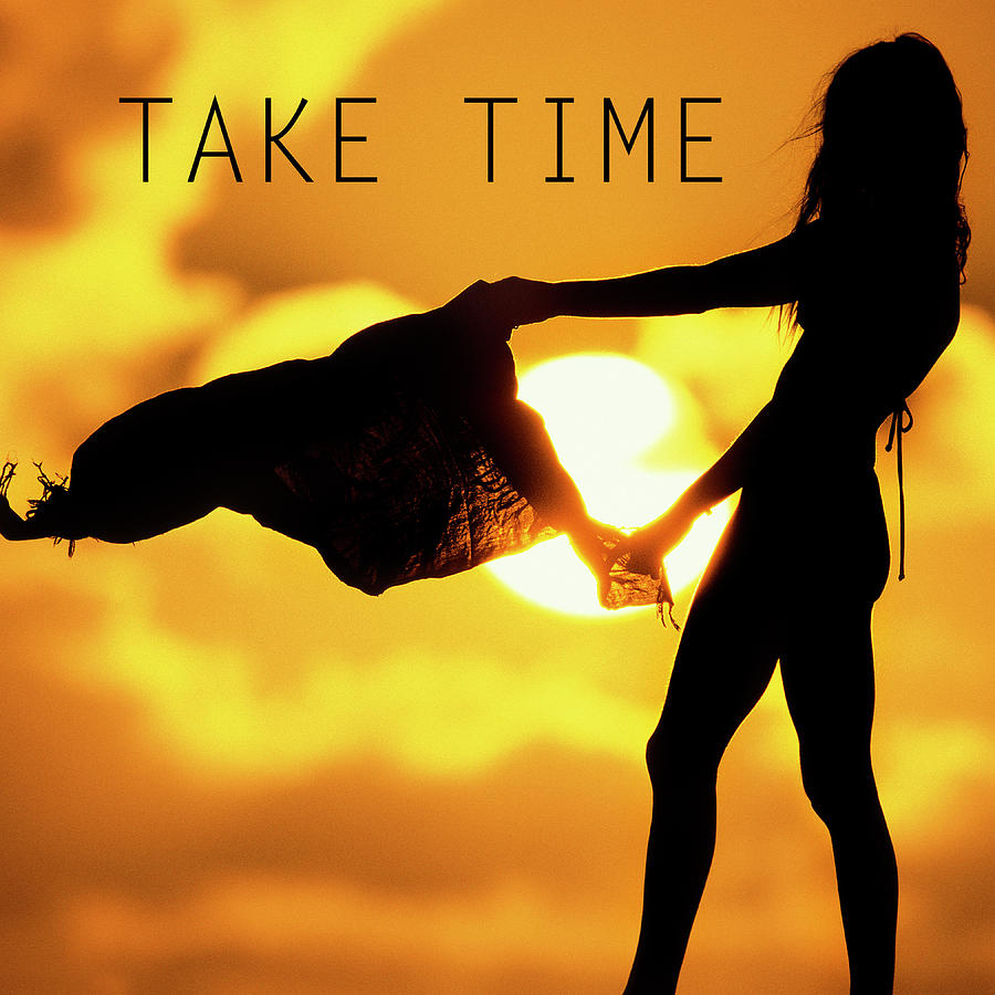 Girl Photograph - Take Time. by Sean Davey