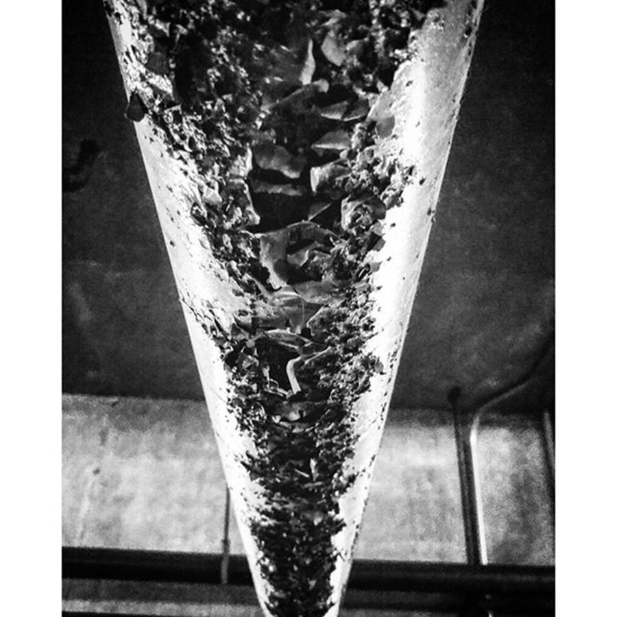 Monochromatic Photograph - Taken 11/23/15 In An Underground by Michael Vaillancourt