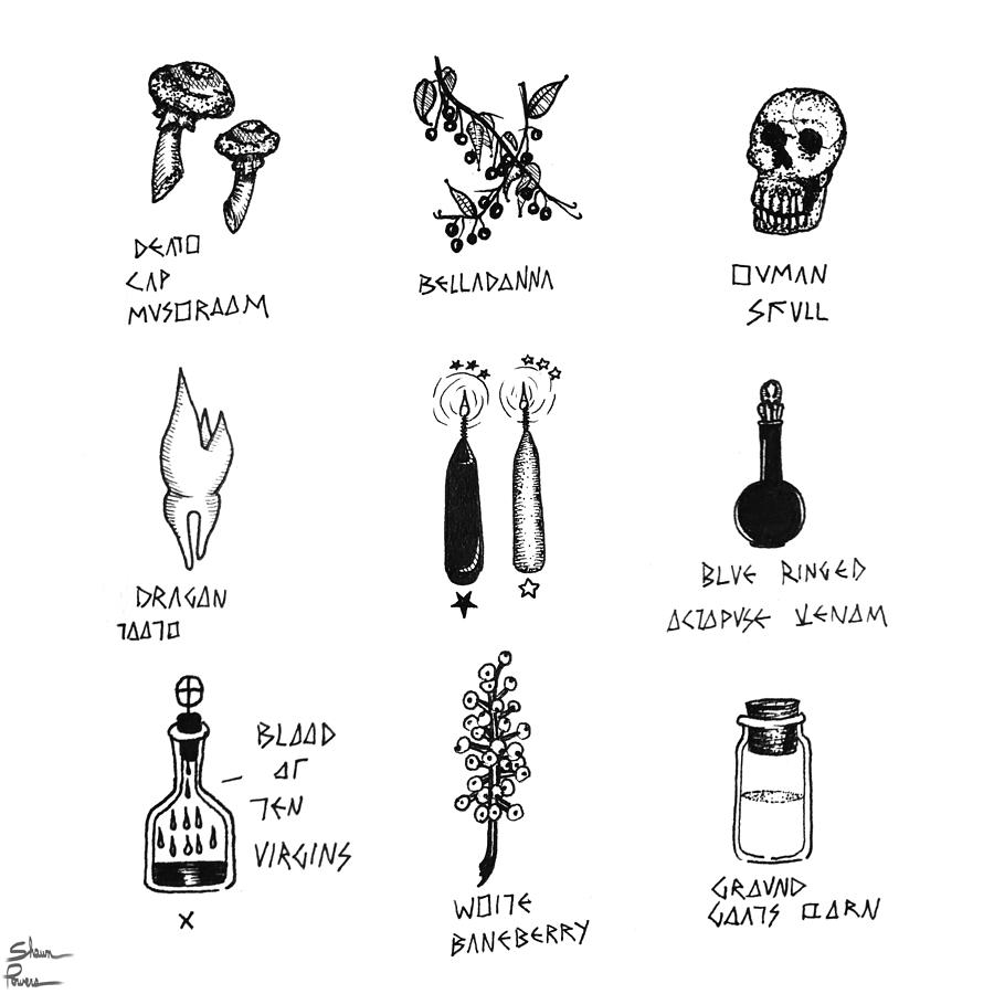Potion Drawing - Taken From Forgiveness by Shawn Powers