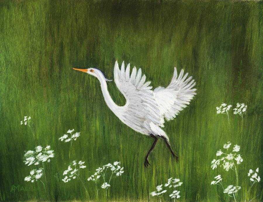 Takeoff Painting - Takeoff by Anastasiya Malakhova